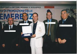 Consegna Benemerenza Roma 2004